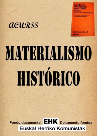 El Materialismo Histórico - Academia de Ciencia de la URSS - pdf y epub El_Materialismo_Historico
