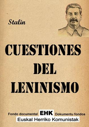 CUESTIONES DEL LENINISMO PDF DOWNLOAD