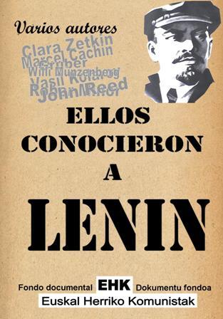 Ellos conocieron a Lenin. Memorias de sus contemporáneos extranjeros - Varios autores - formatos epub y pdf Ellos_conocieron_a_Lenin