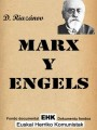 Marx y Engels conferencias